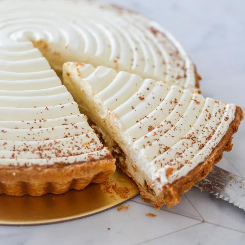 Banana Almond & Cognac Pie