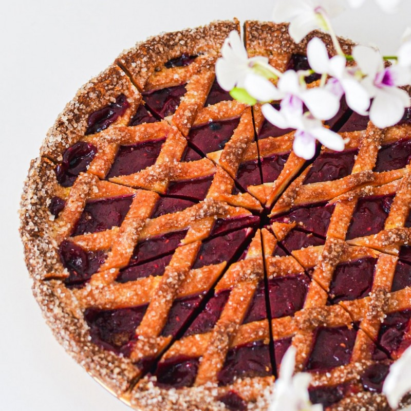 Morello Sour Cherry Pie