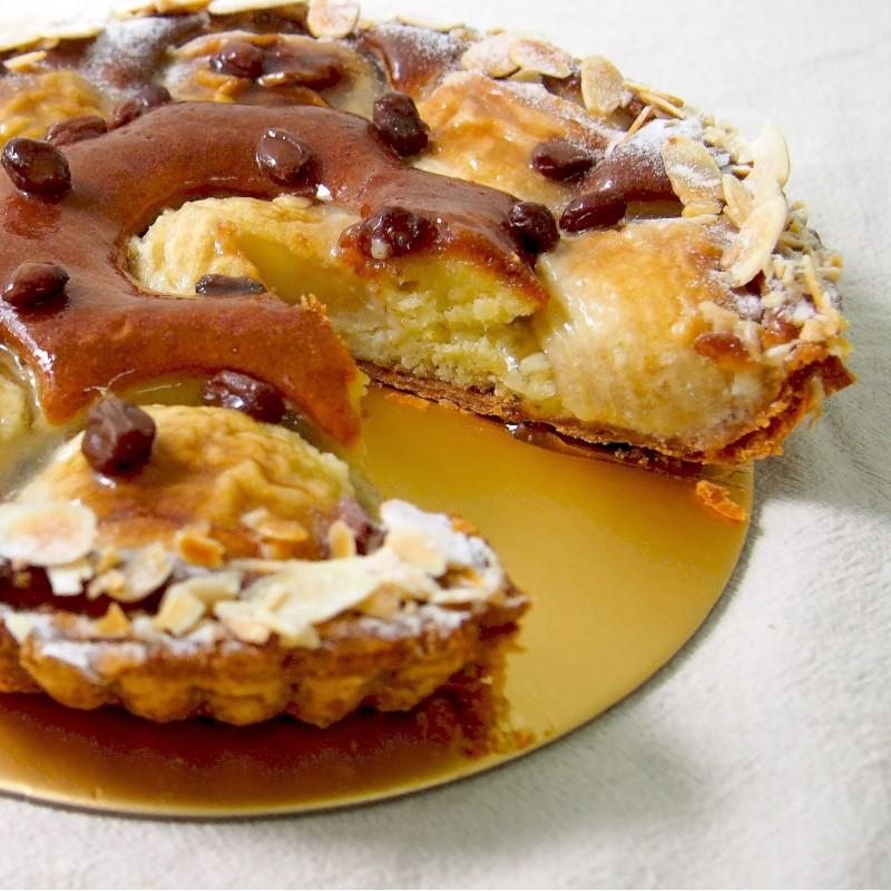 Apple Frangipane & Rum Pie