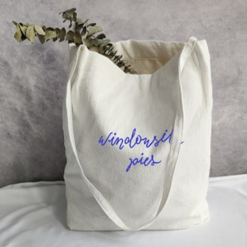 Windowsill Pies Cotton Tote Bag